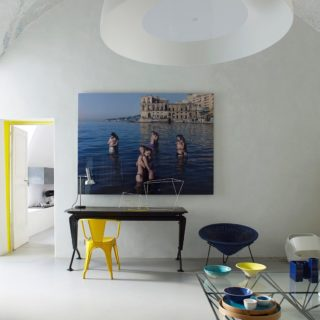 Yellow fever in Capri, the hotel @caprisuite ⠀⠀⠀⠀⠀⠀⠀⠀⠀ Summer cuddling in Napoli on the wall, yellow Luxembourg chair and a touch of black for this perfect summer feel. ⠀⠀⠀⠀⠀⠀⠀⠀⠀ Renovation by talented architect @giulianoandreadelluva ⠀⠀⠀⠀⠀⠀⠀⠀⠀ ⠀⠀⠀⠀⠀⠀⠀⠀⠀ @gaelleleboulicautpics #gaelleleboulicaut #gaelleleboulicautphotography ⠀⠀⠀⠀⠀⠀⠀⠀⠀ ⠀⠀⠀⠀⠀⠀⠀⠀⠀ #Decor #decoration #interior #interiordesign #design #interiorsphotography #interiorsphotographer #instainterior #adstyle #home #homedecor #instahome #architecture #instadecor #interiorinspiration #interiors #homedesign #instaluxe #interiordecorating #homedesign #elledecor #architecturephotography